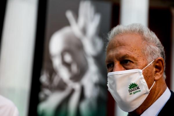 Το ιστορικό στέλεχος του ΠΑΣΟΚ Κώστας Σκανδαλίδης στην εκδήλωση για την 3η Σεπτέμβρη