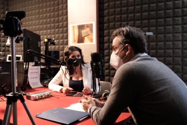 Ο Κυριάκος Μητσοτάκης έδωσε συνέντευξη στον ραδιοσταθμό Status Fm και στους δημοσιογράφους Δημήτρη Βενιέρη και Βιργινία Δημαρέση.